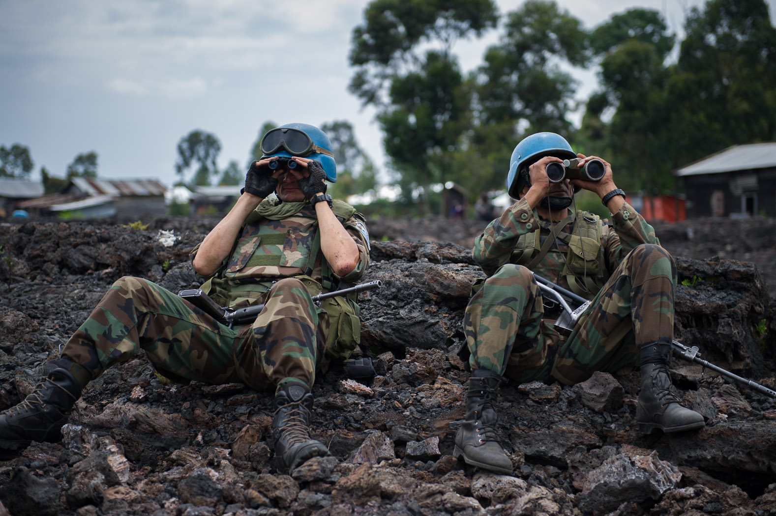 The United Nations maintains its largest peace-keeping mission in Congo, but has repeated failed to halt rebel advances through the east.