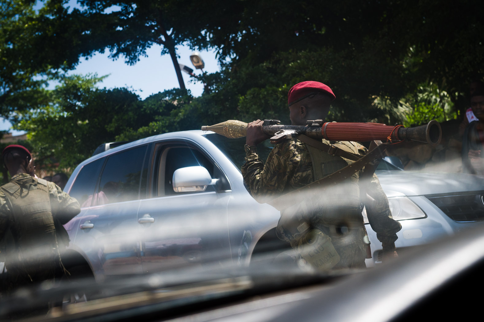 An group calling for independence of Katanga province also attacked a polling station in Lubumbashi, resulting in several deaths. The Republican Guard, army and armed police were deployed to track down the perpetrators.