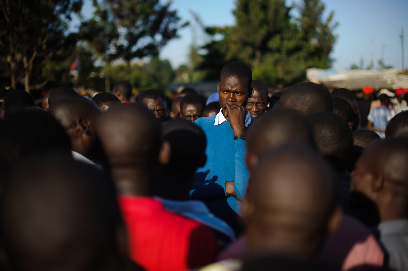 During the wait, much of Nairobi, the capital, remained closed. Communities discussed the possible outcome, and what that would mean to them.