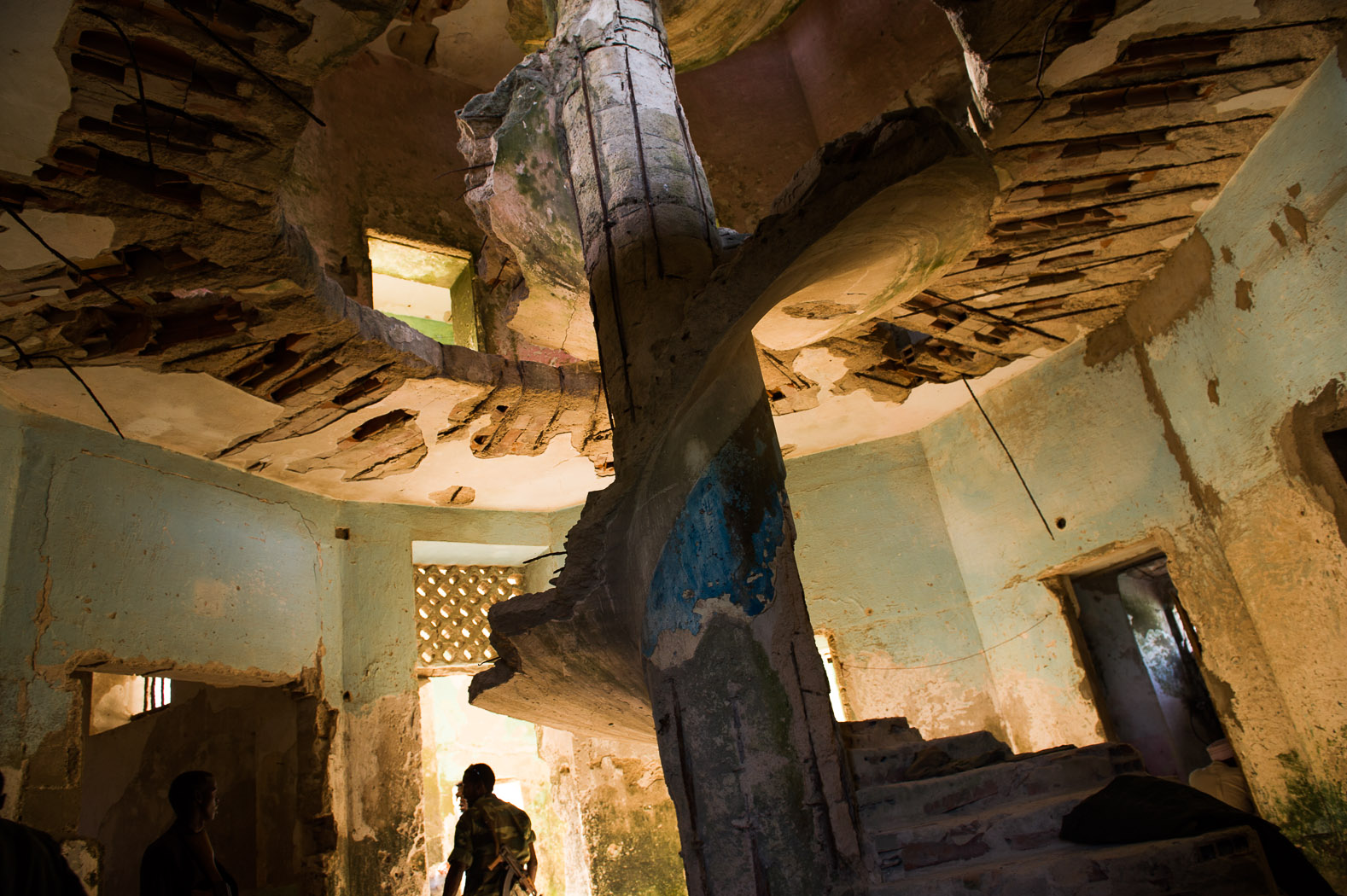 After two decades of conflict, the city has been ravaged by war. Shells and gunfire have gutted much of what was extravagant architecture and a lively city.