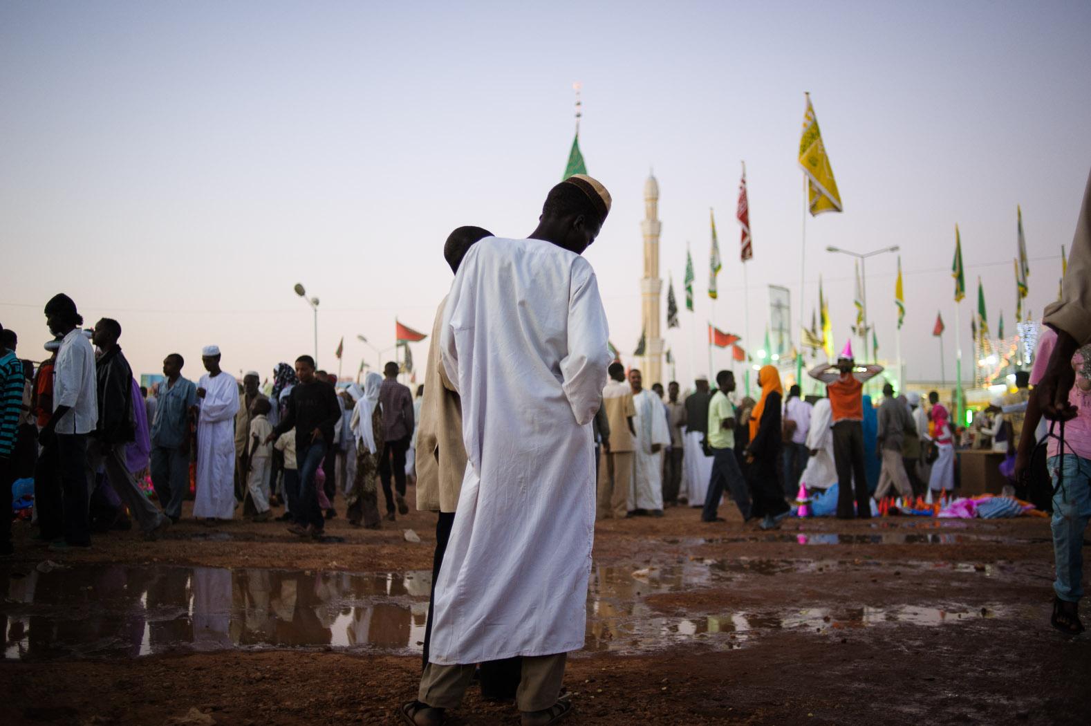 Mawlid celebrations, Omdurman.