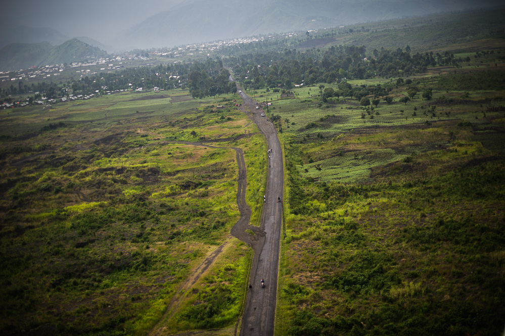 The road to Sake, from Goma