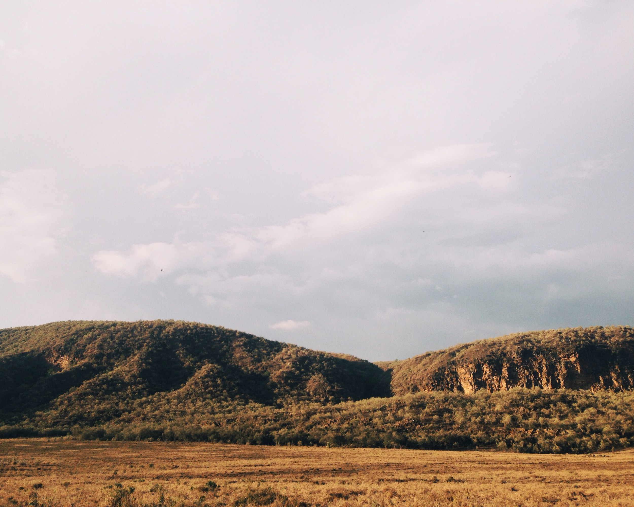 Hell's Gate National Park in Kenya