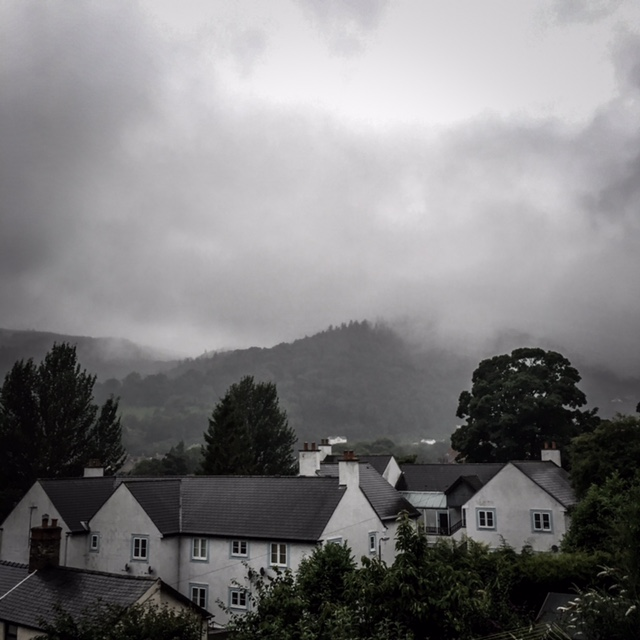 Henceforth, I shall live in the hills around Llangollen.