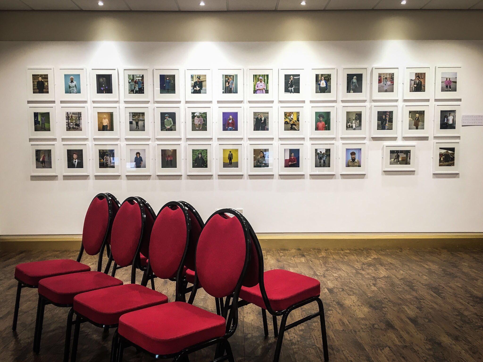 British Portraits, exhibited at Oriel Colwyn