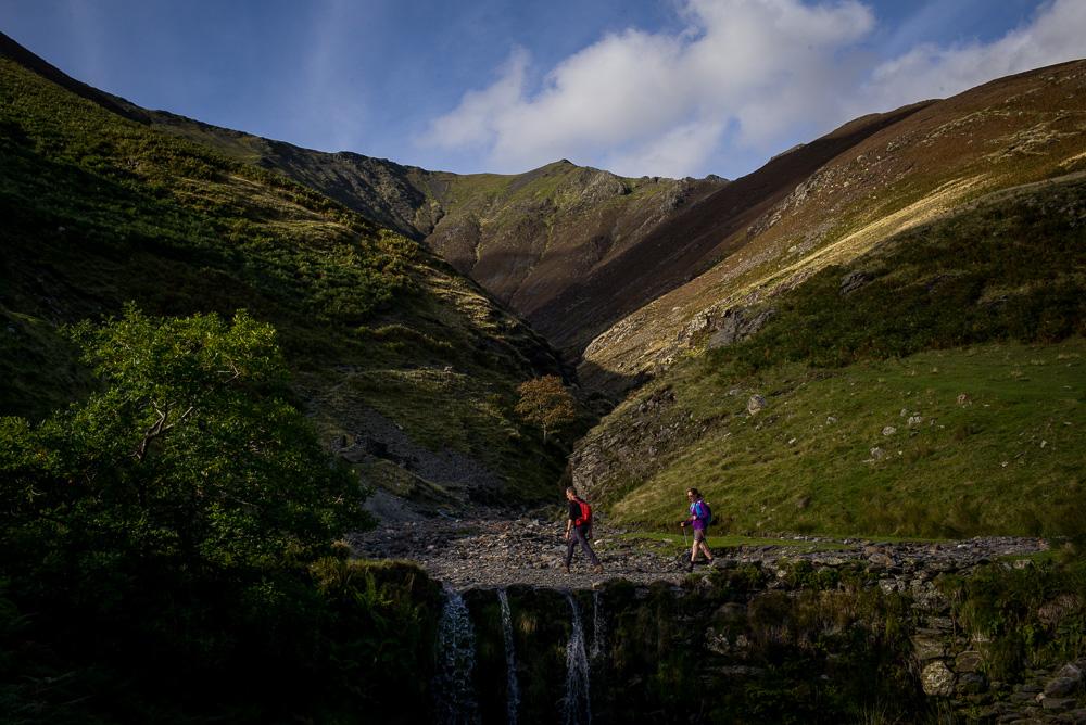 Hikers on Blencathra