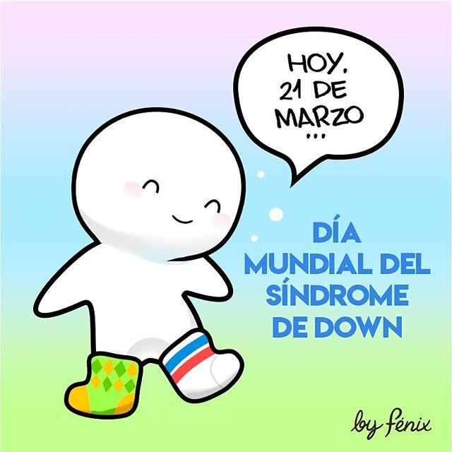 By se une al día. #diamundialdelsindromededown #lotsofsocks #downsyndrome #downsyndromeday #sindromededown #lasuertedetenerte #calcetinesmolones #calcetinesdesparejados