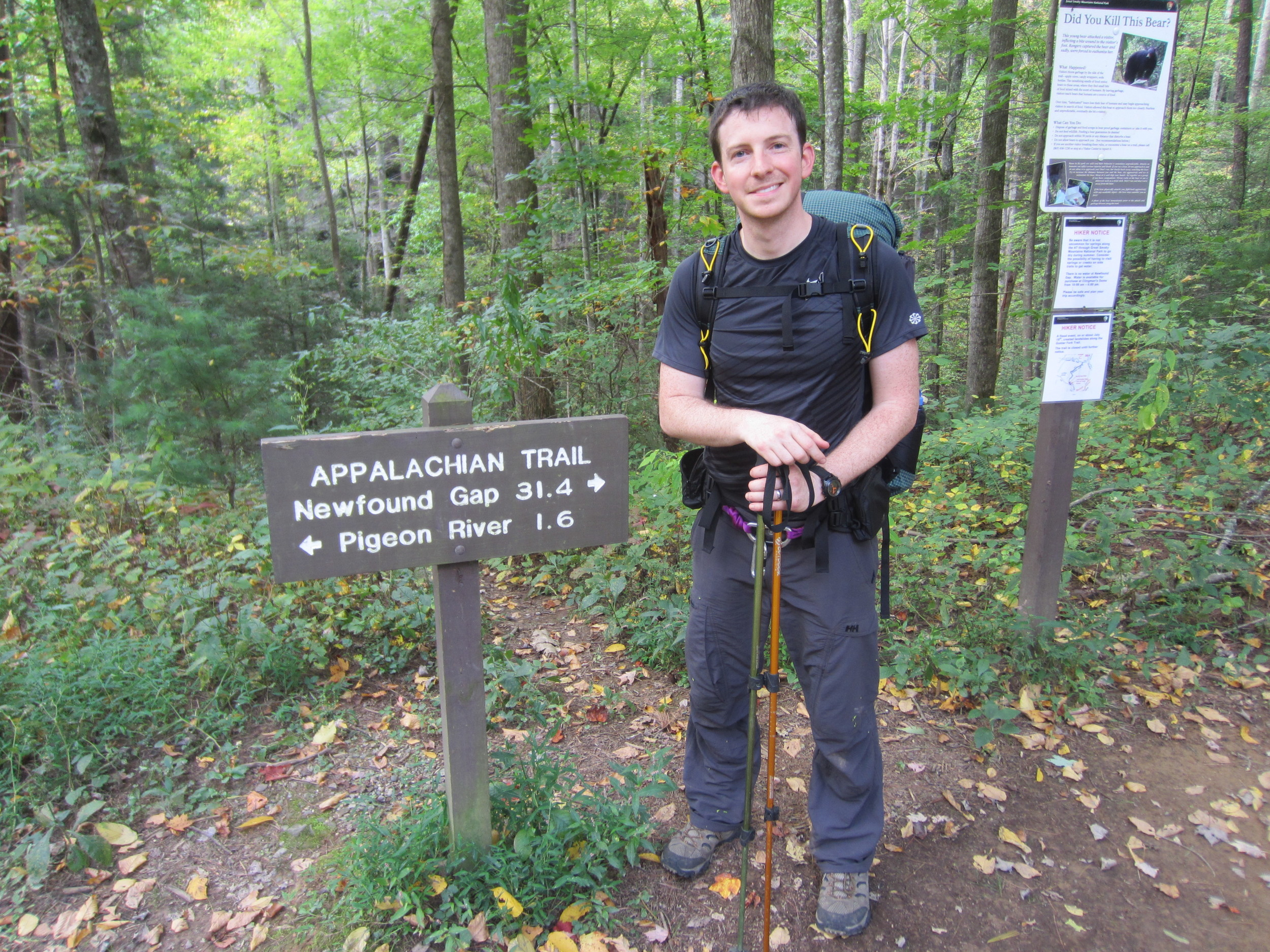 Appalachian Trail - Hot Springs, NC to Davenport Gap, NC