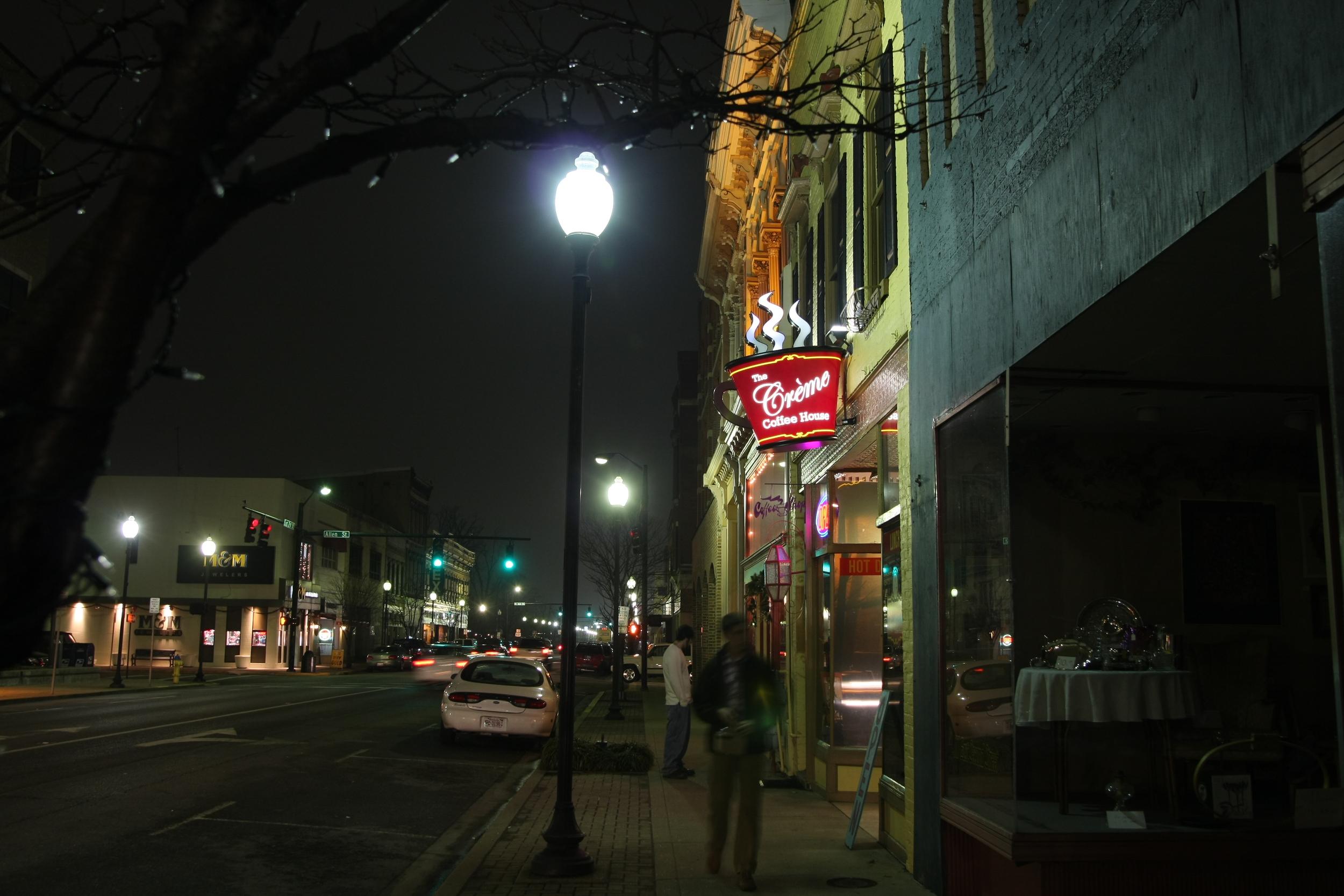 Second and Daviess... Owensboro, Kentucky.