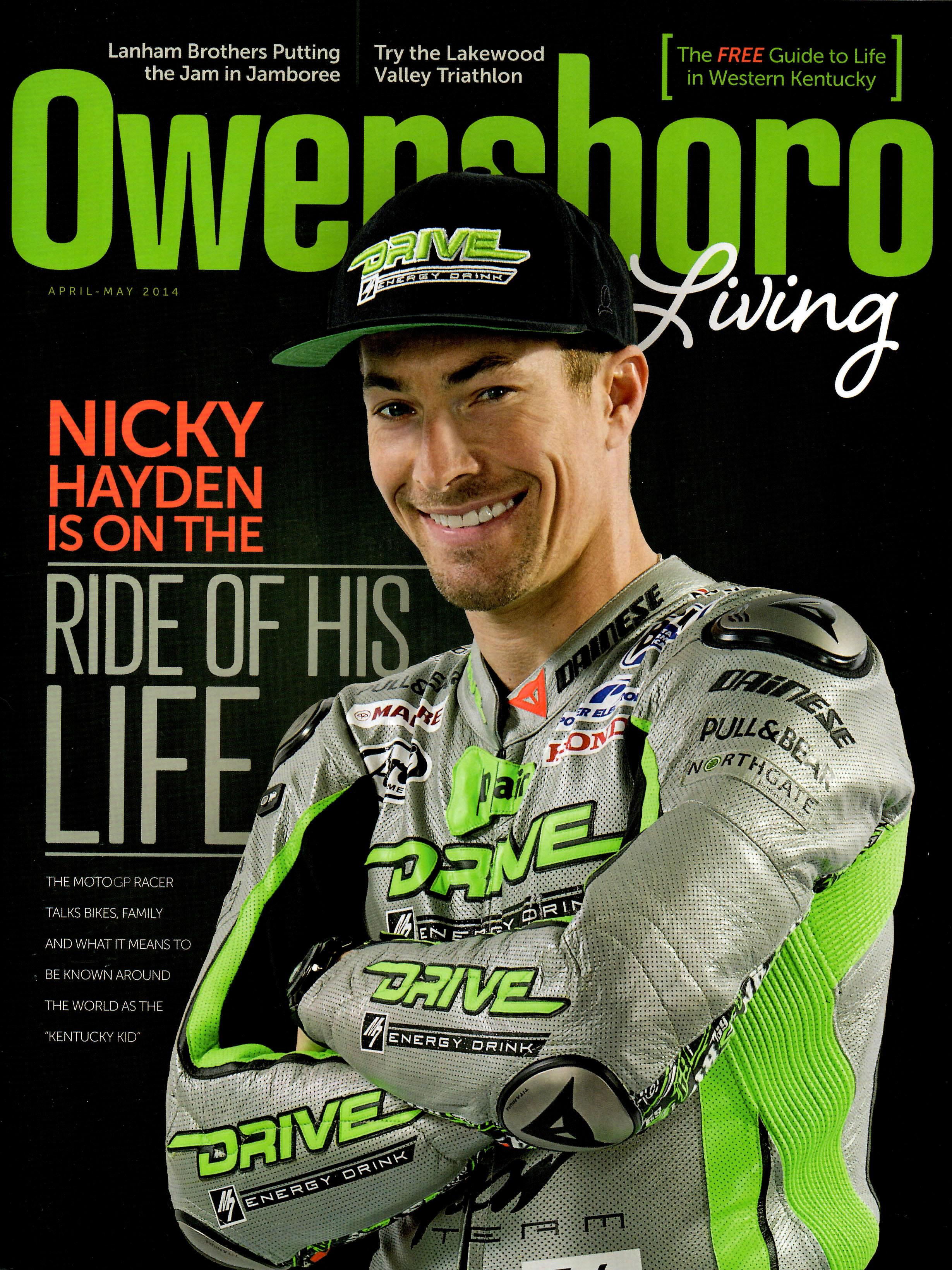 Lakewood Valley Triathlon    Owensboro Living magazine - April 2014