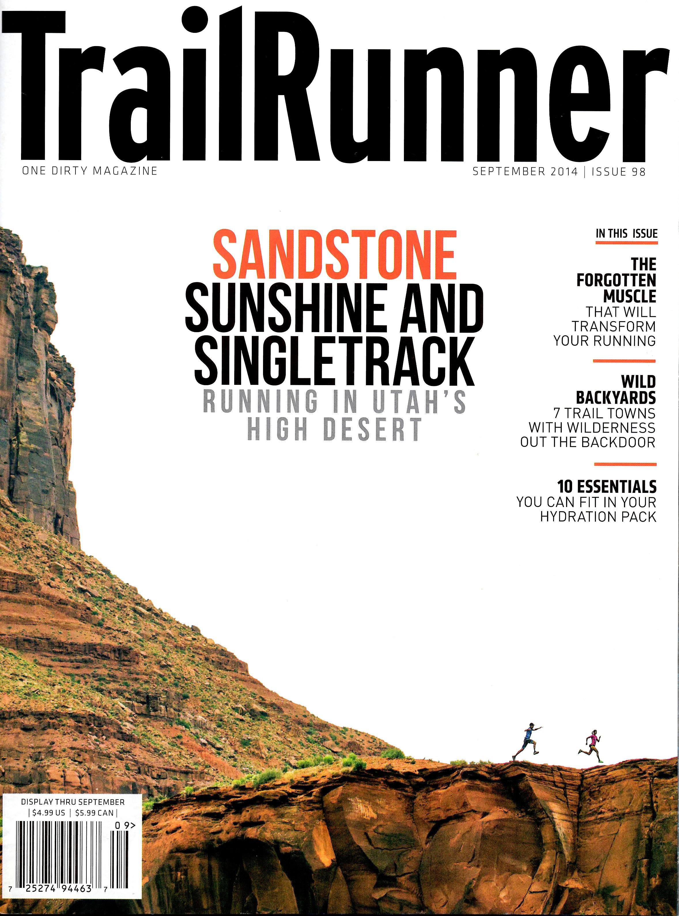 Wild Kentucky    Trail Runner magazine - August 2014