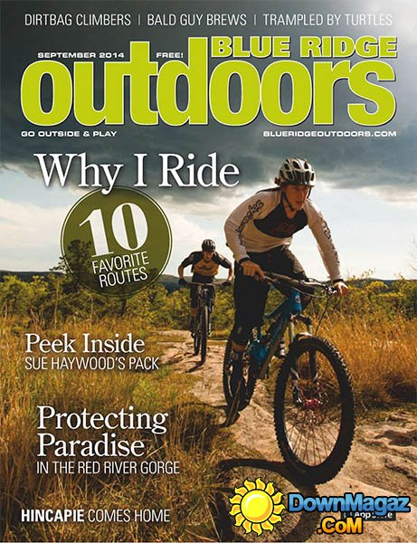 Protecting Paradise in the Red River Gorge     Blue Ridge Outdoors - September 2014