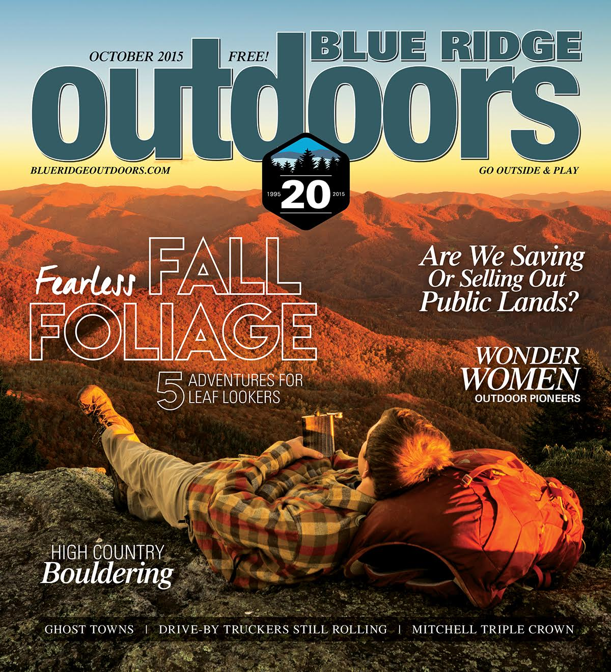 Fearless Fall Foliage  Blue Ridge Outdoors - October 2015