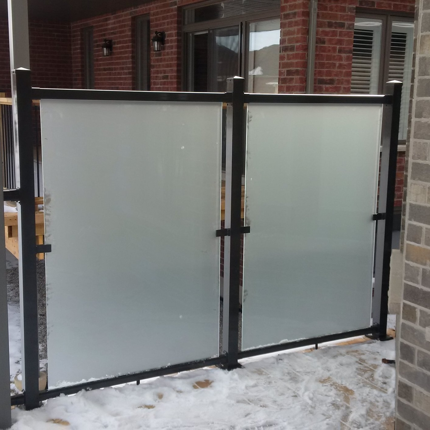 Etched Glass Screens