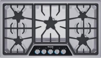 "Thermador 36"" cooktop"