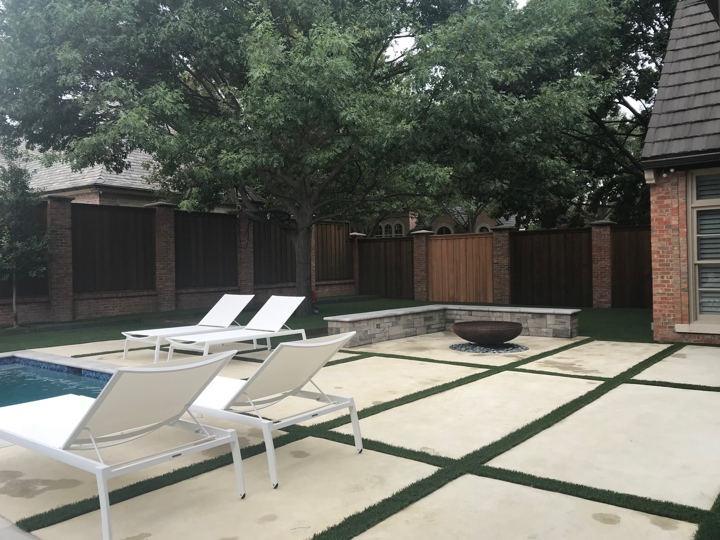 Plano Fire Pit