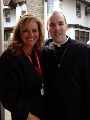 Kelly Wahlquist and Br. Kenny Bouzan, MIC