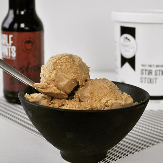 There's still @halfpintsbrewing Stir Stick Stout ice cream out there! 🍺 🍨  Have you tried it? Tell us what you thought!