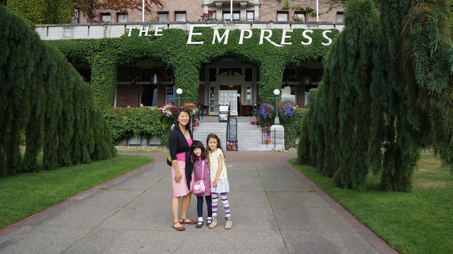 Victoria- Mike, Grace, & Ella