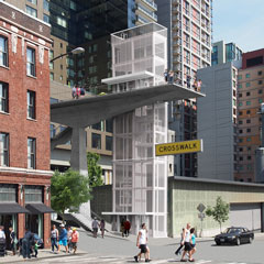 union street pedestrian corridor -