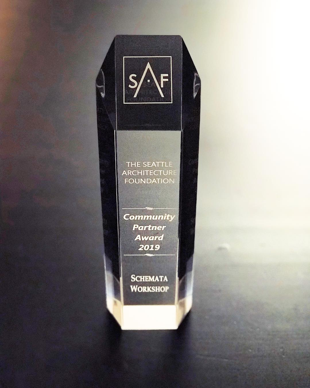SAF Community Partner Award - 2019