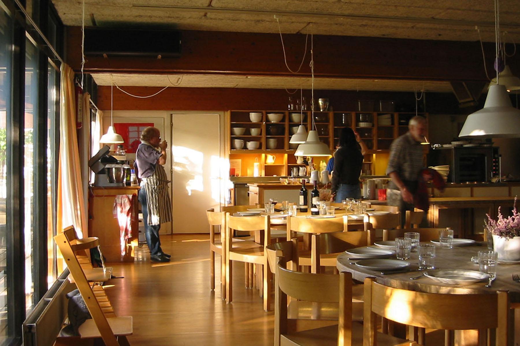 Saettedamen Cohousing  in Hilleroed, DK. Designed by Theo Bjerg og Palle Dyrebord