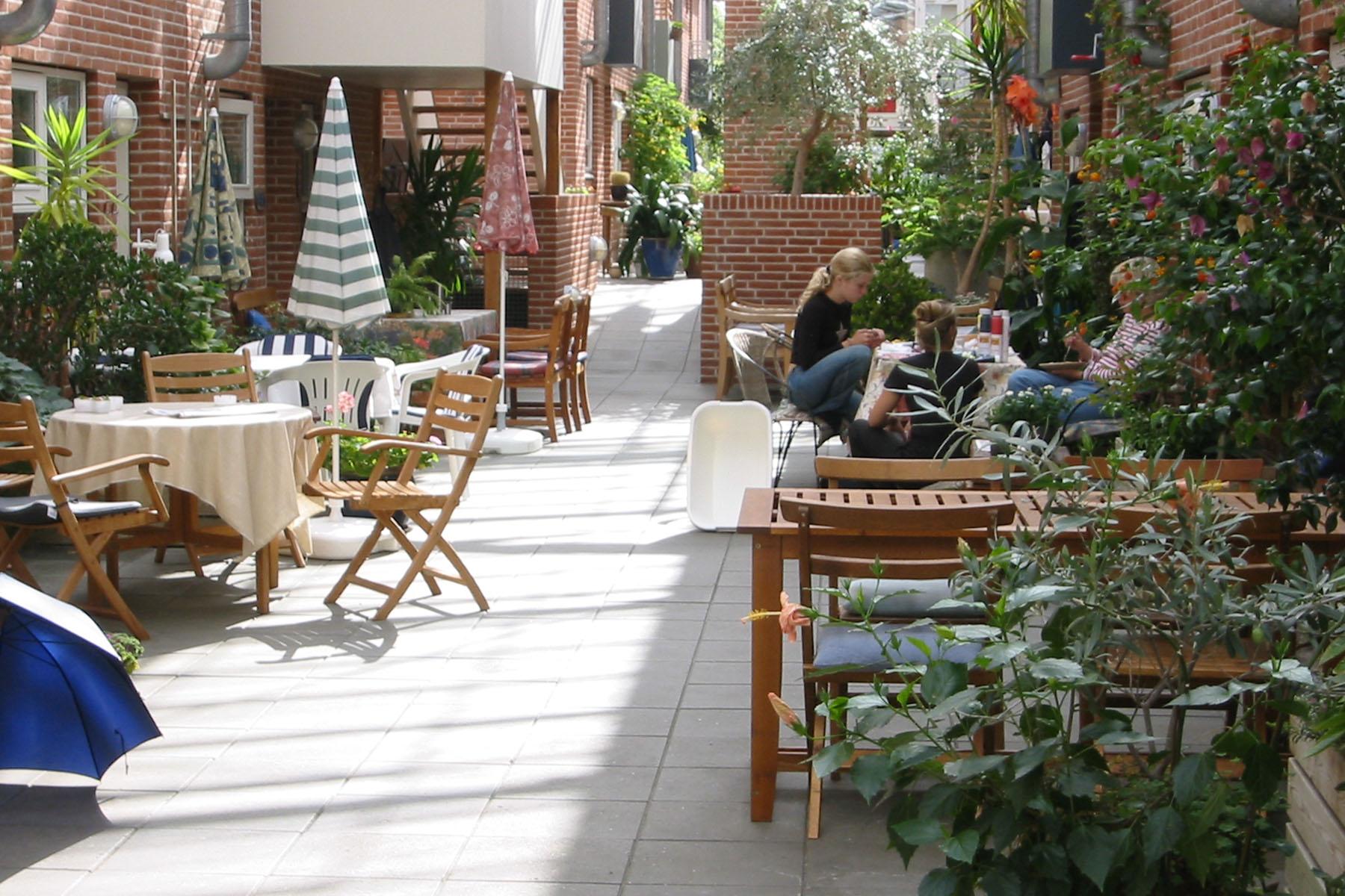 Drivhuset Cohousing  in Randers, DK. Designed by Niels Madsen