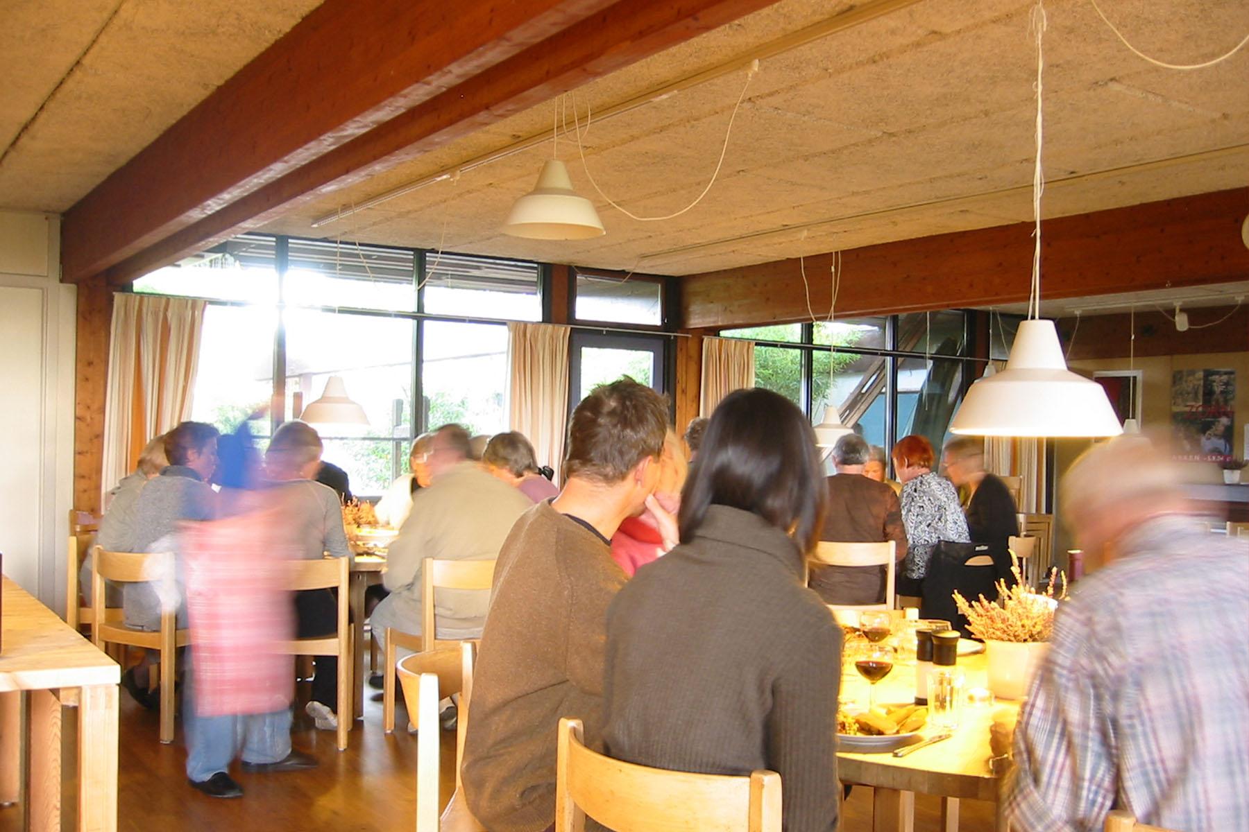 Saettedamen Cohousing  in Hillerød, DK. Designed by Theo Bjerg og Palle Dyrebord