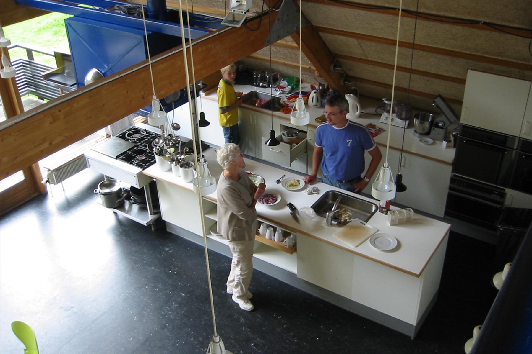 Blikfanget Cohousing  in Birkerød, DK. Designed by Tegnestuen Vandkunsten
