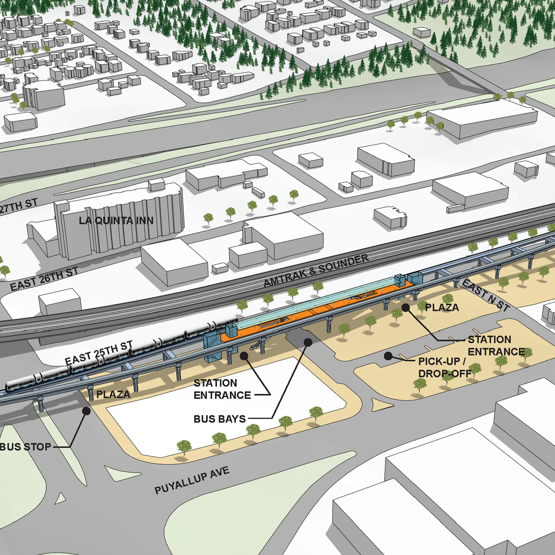 south corridor link analysis -