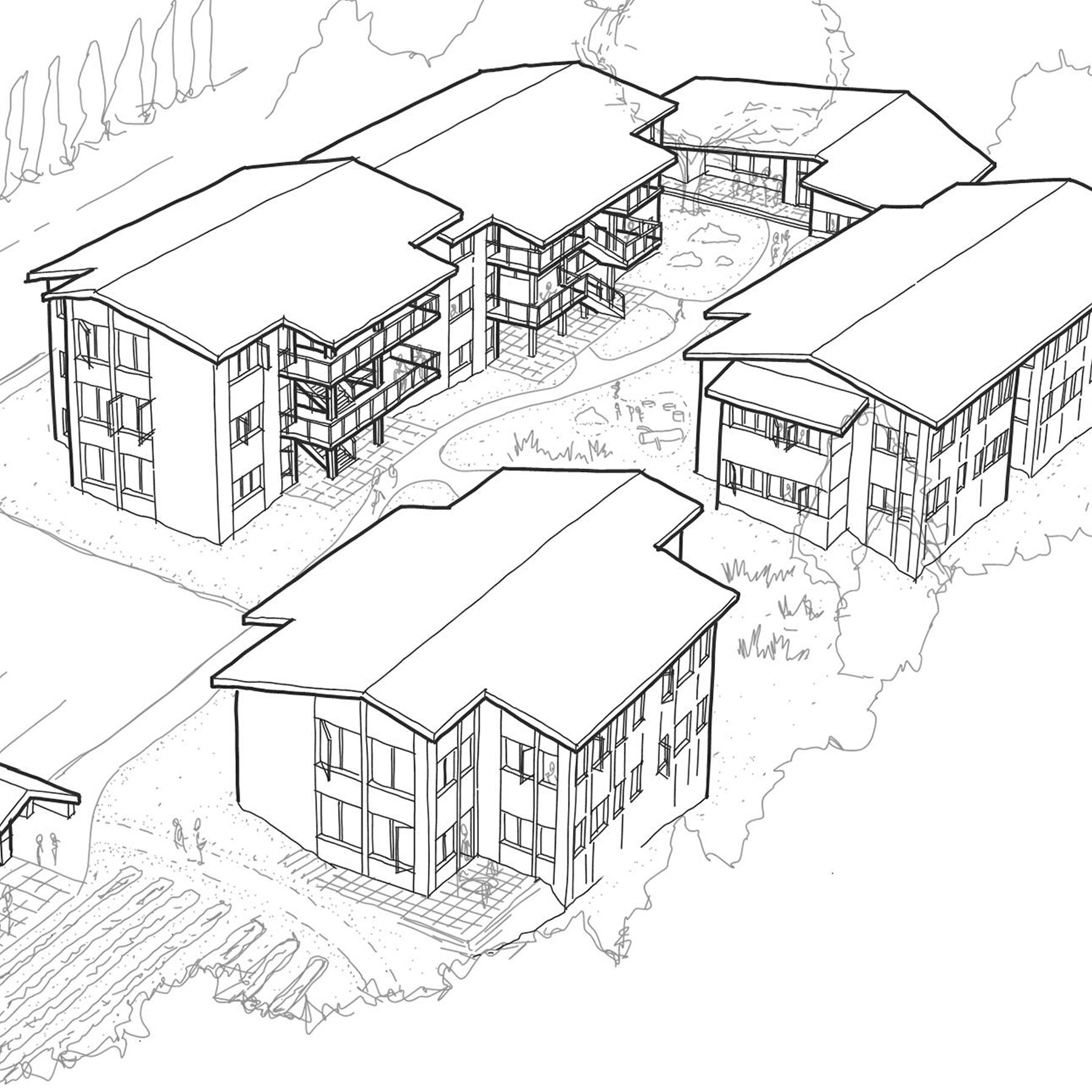 gorge cohousing -