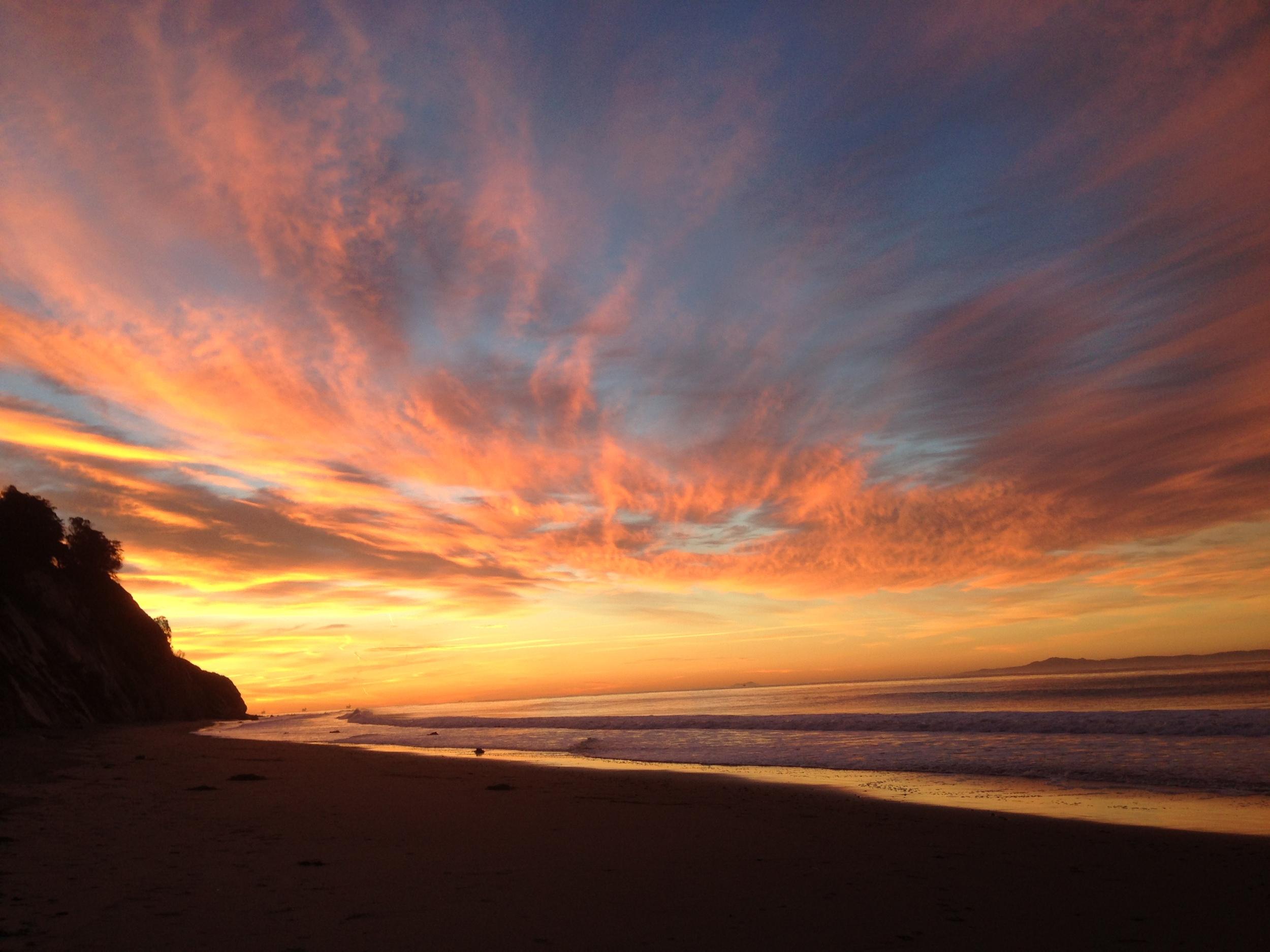 Ocean Sunrise~Santa Barbara, CA