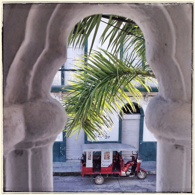 Thru a window... #peru  #iquitos  #travel  #traceyellerstudio