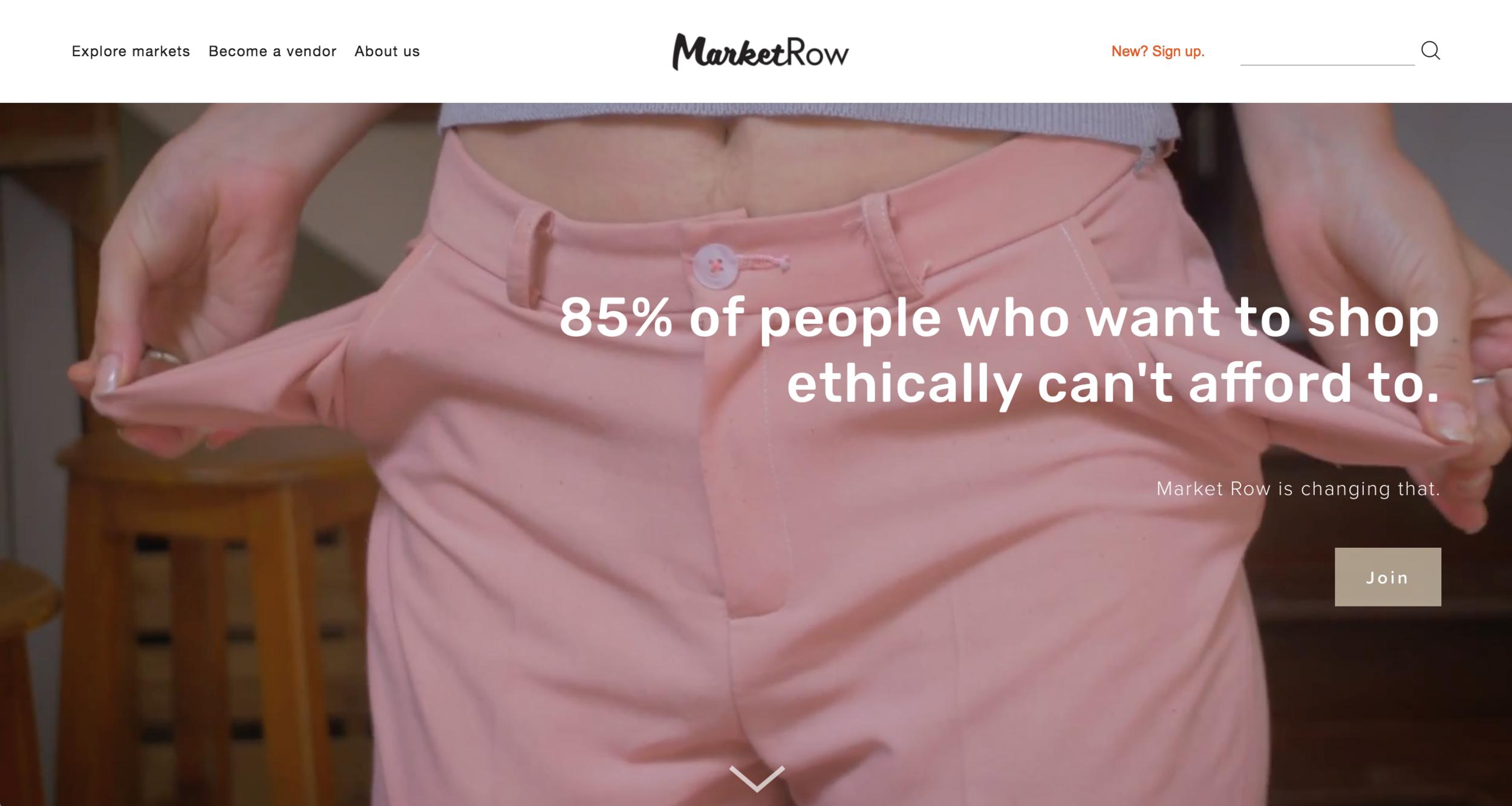 MarketRow
