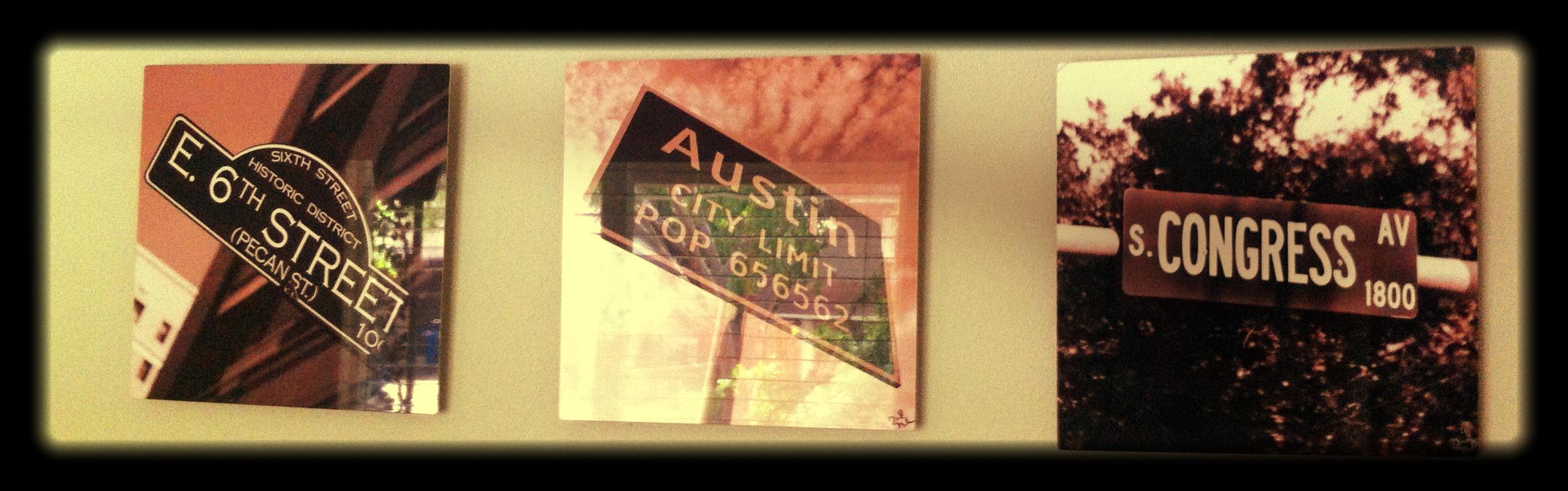 Austin sign art.