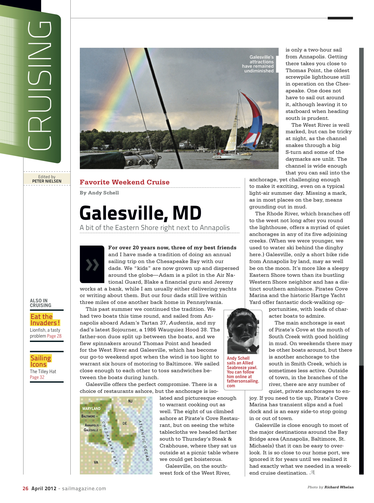 SAIL: Galesville Cruise