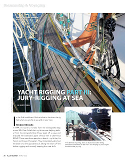 March 2012: Yacht Rigging, Part 3