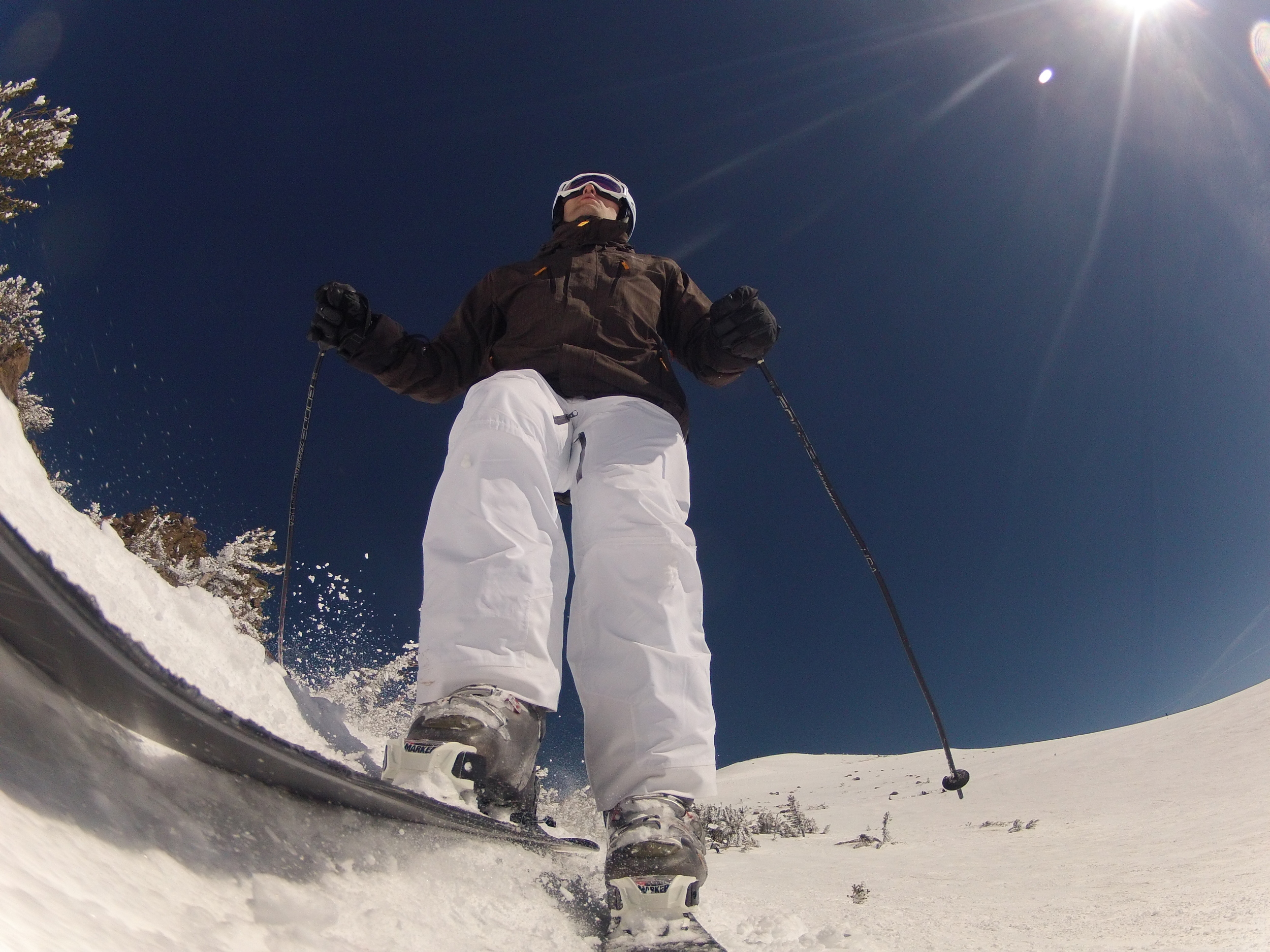 At Mammoth Mountain on Friday.