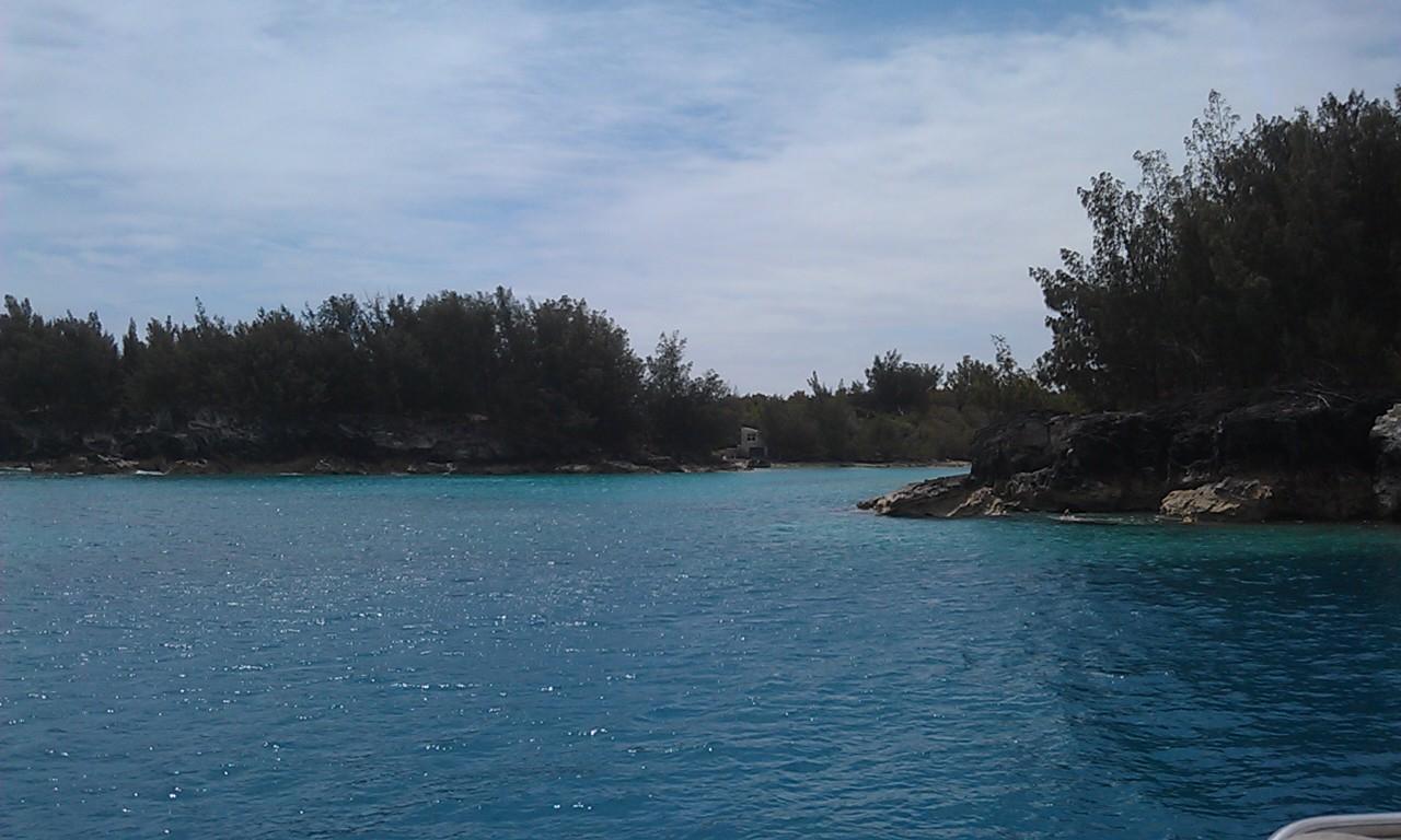Entering Bermuda