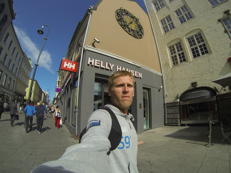 Helly Hansen store - Oslo is home of HH.