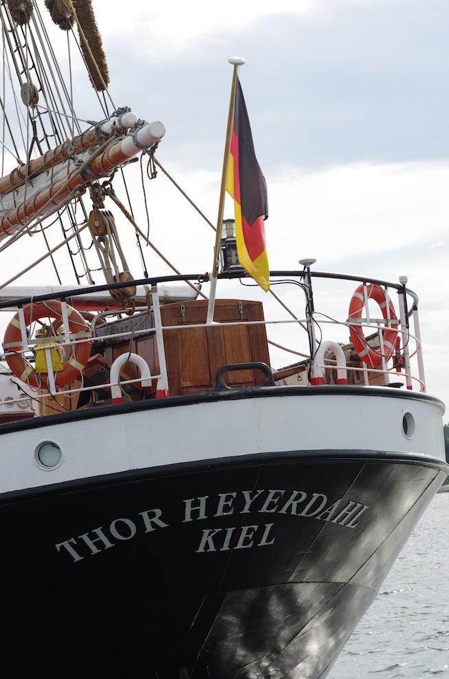 Thor Heyerdahl seems an odd name - he was Norwegian!