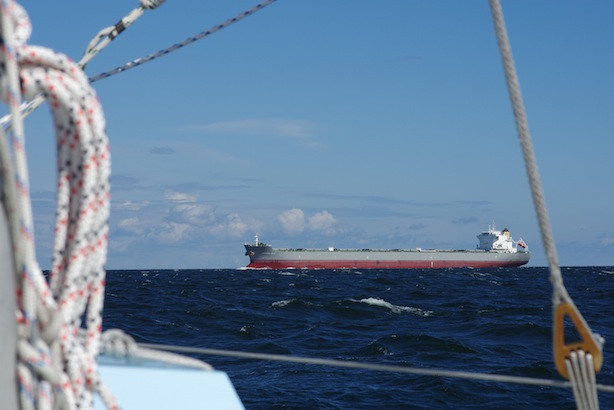 More ships in Ålands Hav today.