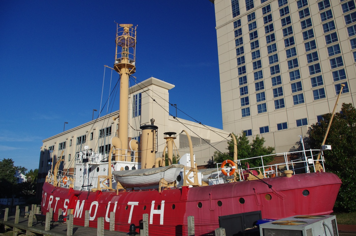 The Portsmouth Lightship