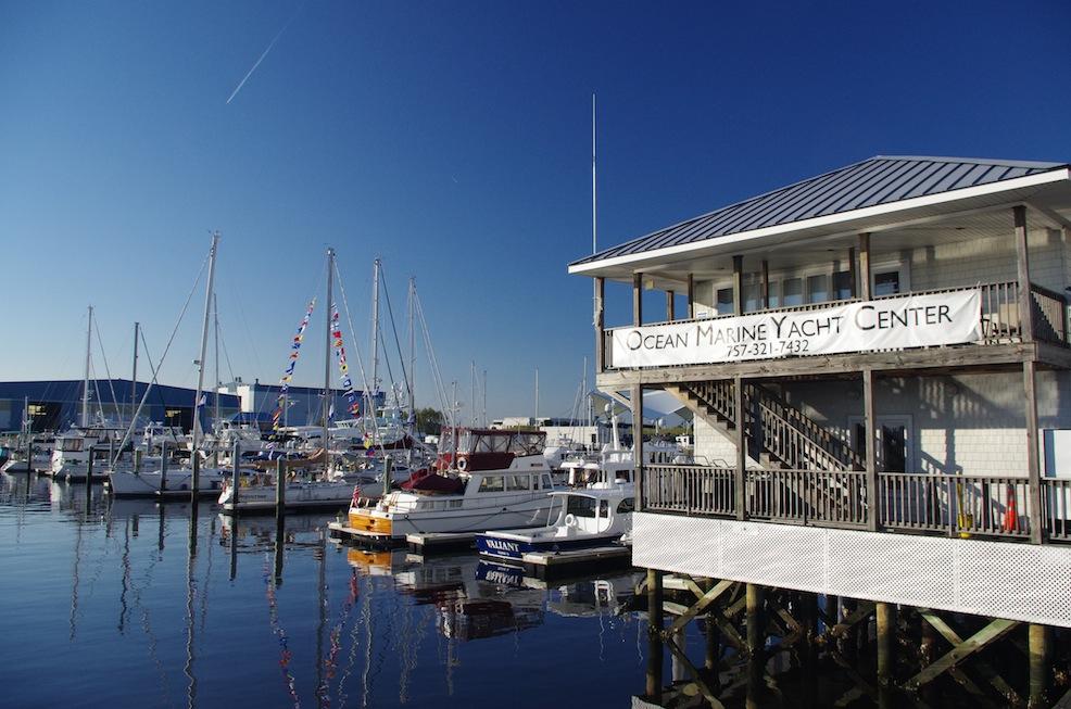 The new marina for C1500, Ocean Marine.