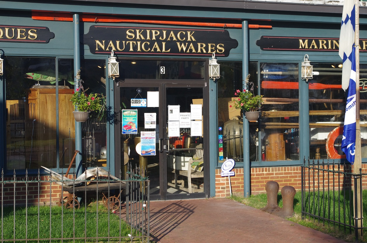 Skipjack Nautical, host of the C1500 happy hours this week in Portsmouth
