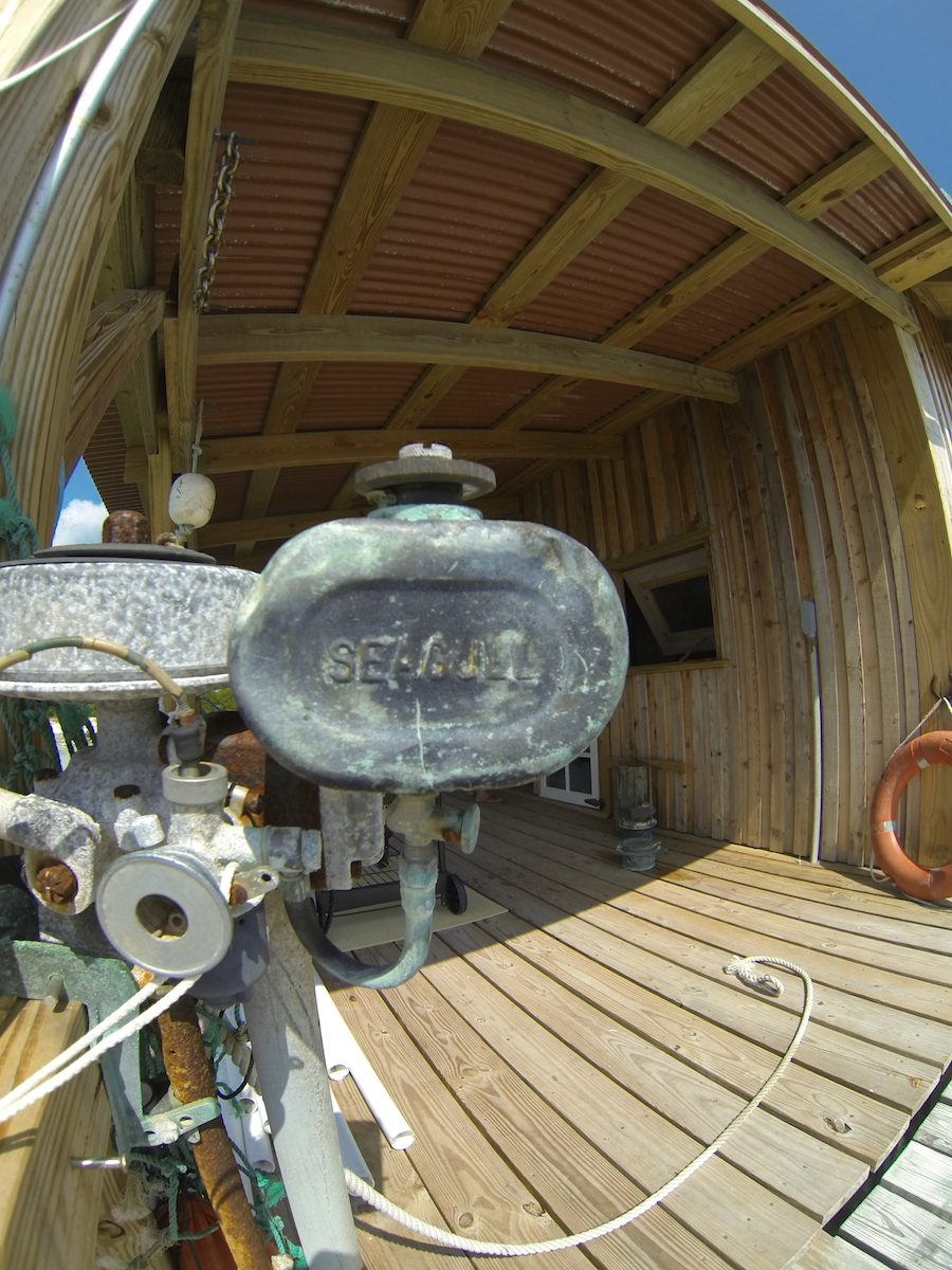 An old Seagull outboard!