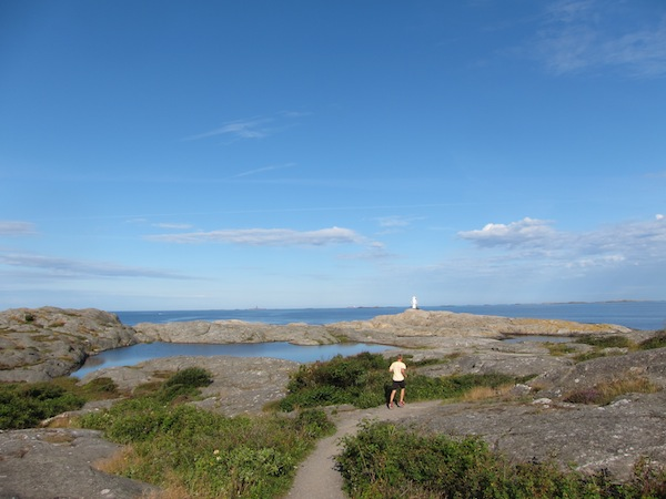 Running Marstrand, Sweden, after a five-day North Sea crossing on  Arcturus  in 2012.