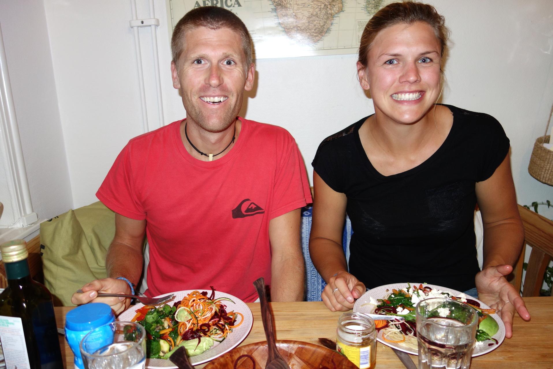 Bästa middagen inför maran!