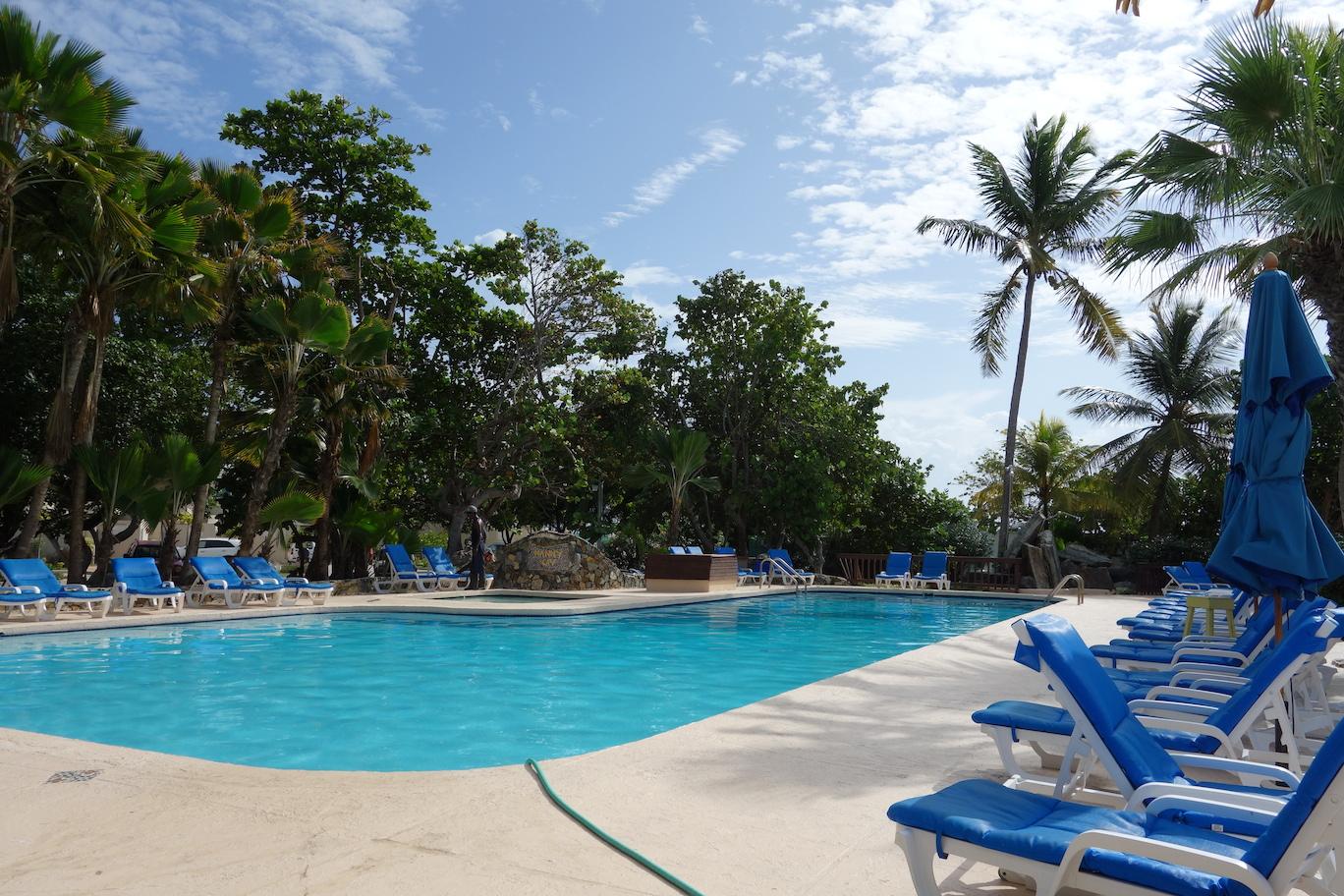 Poolen i Nanny Cay