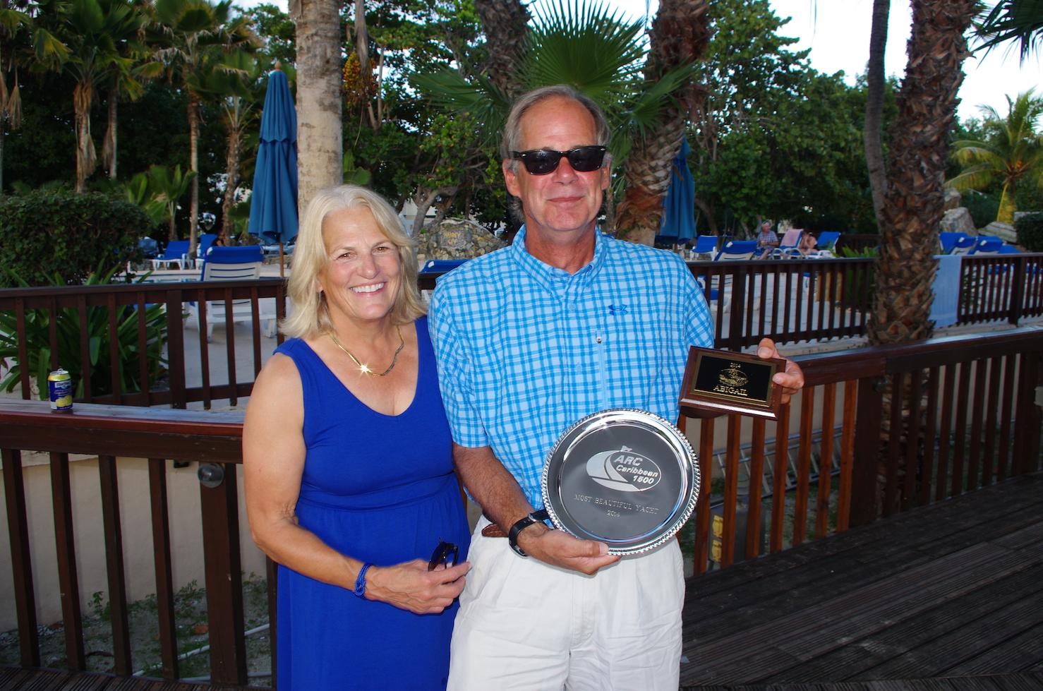 2014_C1500_Nanny Cay_Prizegiving_Abigail_Most Beautiful Yacht.JPG